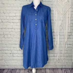 Old Navy chambray shirt dress